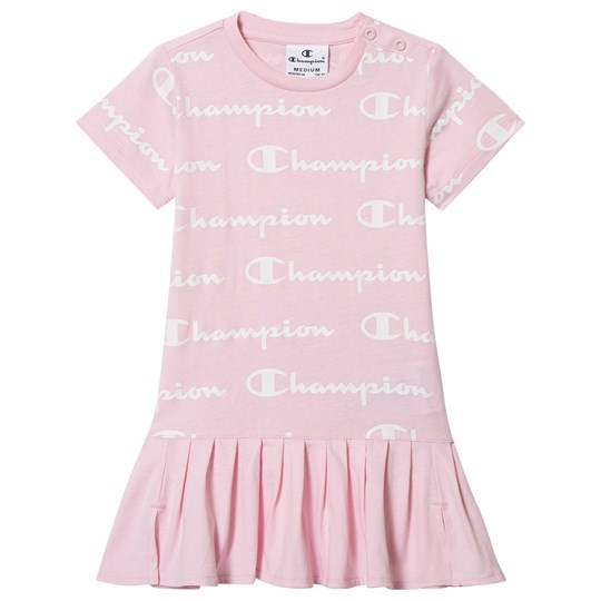 Champion Allover Logo Dress Pink CYP/ALLOVER/CYP