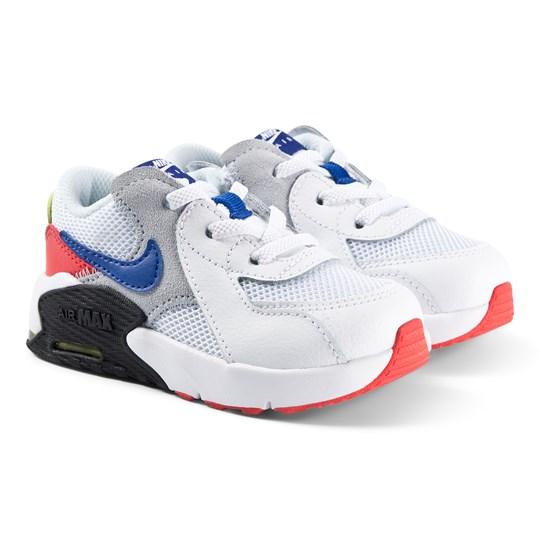 NIKE Air Max Excee Infants Sneakers White/Hyper Blue 101