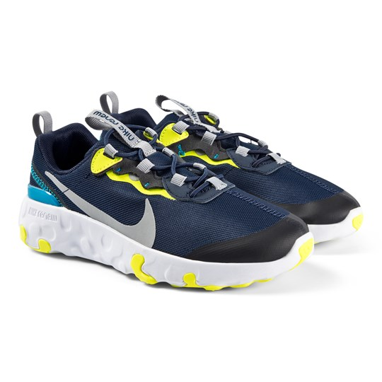 NIKE Element 55 Sneakers Midnight Navy/Light Smoke Grey 400