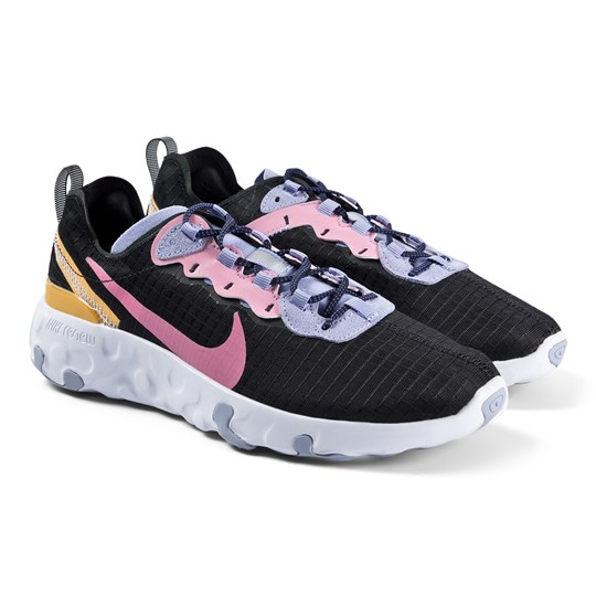 NIKE Element 55 Sneakers Sort/Magic Flamingo 001