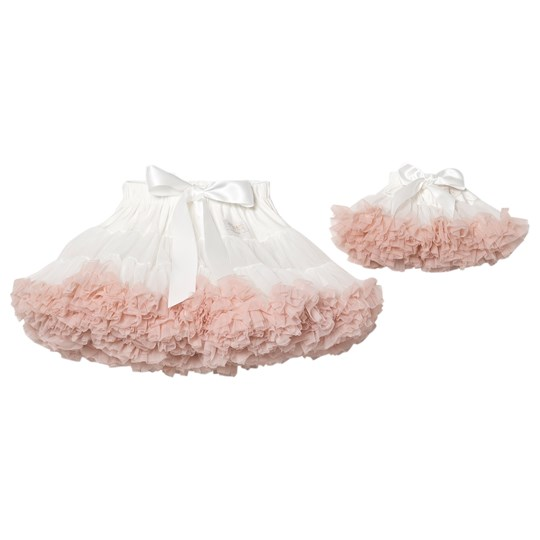 DOLLY by Le Petit Tom Petti Kjol Off white off-white ballet pink