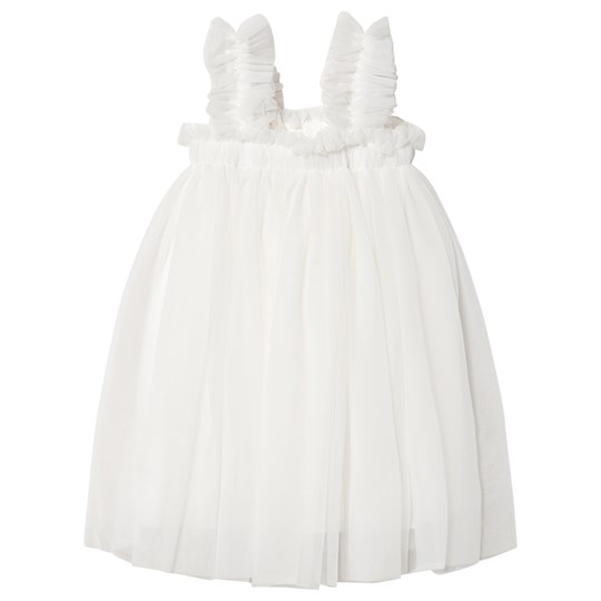 DOLLY by Le Petit Tom Tutu Beach Cover Up Klänning Naturvit off-white