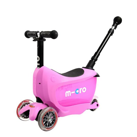 Micro Mini2go Deluxe Plus Kick Bike Pink Pink