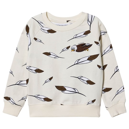 Tao&friends Eagle Feather Sweatshirt Light Beige Light Beige