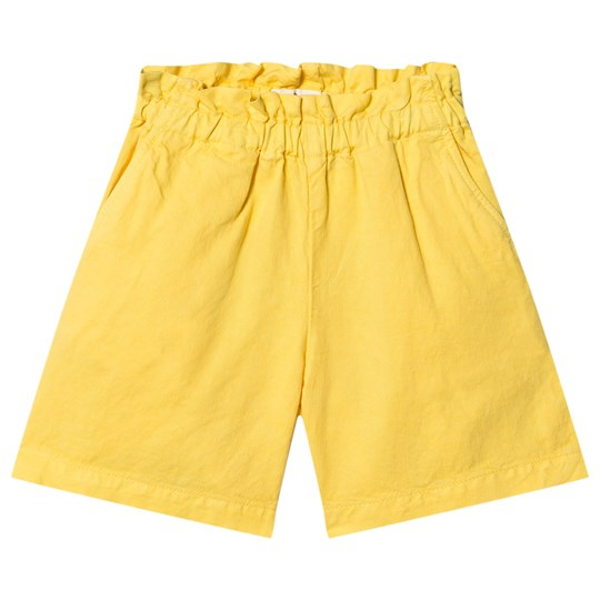 Bonpoint Cherry Logo Shorts Yellow 033