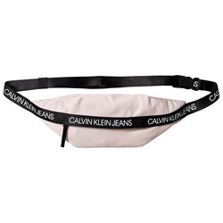 Calvin Klein Jeans Tape Branded Fannypack Pink