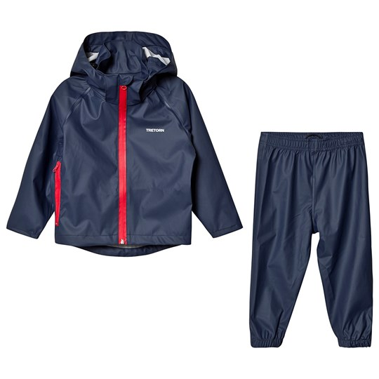 Tretorn Kids Packable Rain Set Navy Navy