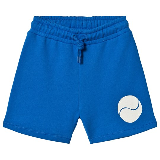 Mini Rodini Game Sweat Shorts Blue Blue