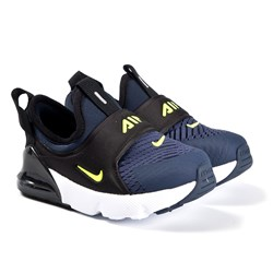 NIKE Air Max 270 Extreme Infants Sneakers Midnight Navy/Lemon Venom