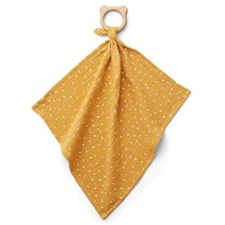 Liewood Dine Cuddle Blanket/Teether Confetti/Yellow Mellow