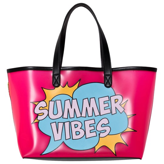 MC2 Saint Barth Summer Vibes Beach Bag Pink SUMMER VIBES POP 2101