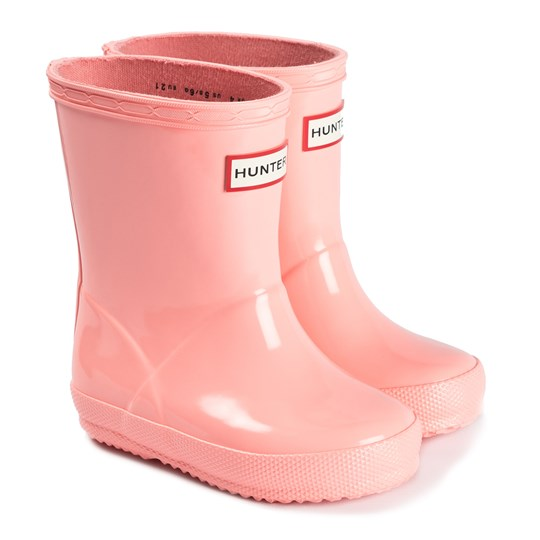 Hunter First Classic Rain Boots Pink CALIFORNIA SEA SHELLY