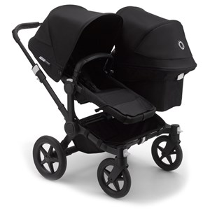 Image of Bugaboo Donkey3 Duo Udvidelsessæt Complete Sort Donkey3 Duo Extension Complete Seat Black (1582517)