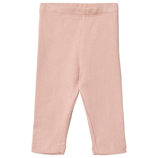 Wheat Rib Leggings Misty Misty Rose