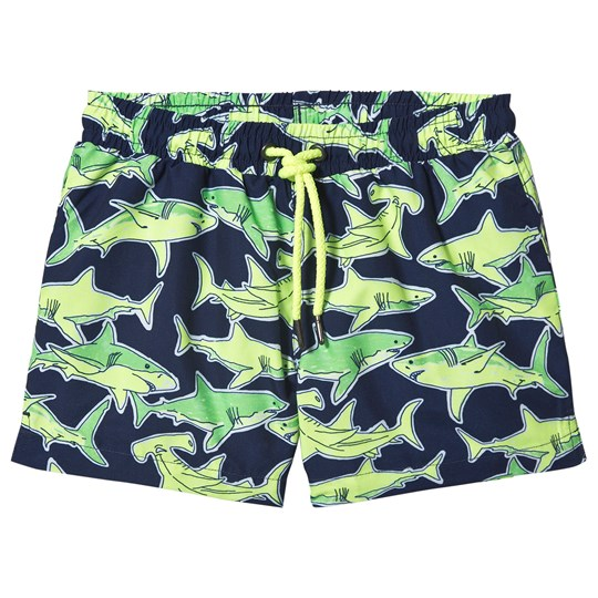 Sunuva Shark Swim Shorts Navy Navy
