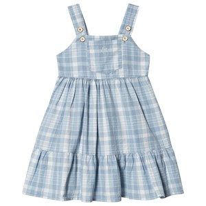 Image of Tocoto Vintage Plaid Kjole Blå 6 Years (1550513)
