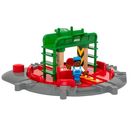 BRIO Набор BRIO® World - 33476 Turntable And Figure Red