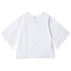 How To Kiss A Frog Karla Lace Blouse White