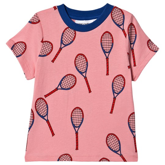 Mini Rodini Exclusive Tennis Tee Special Pink Pink