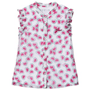 Image of Guess Watermelon Hearts Bluse Hvid 6 years (1495045)