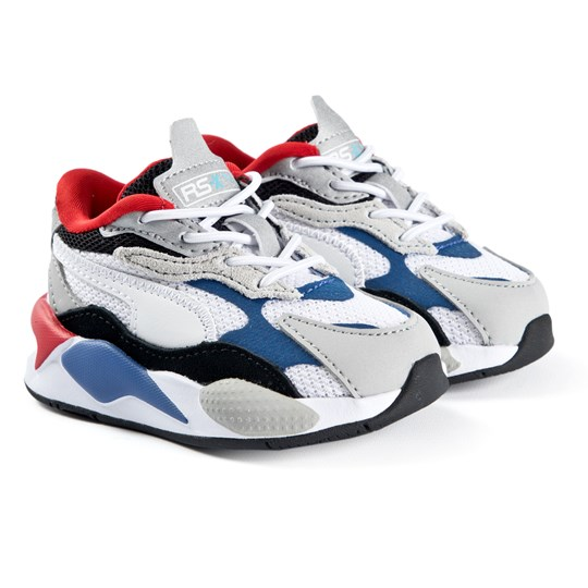 Puma RS-X Puzzle Infants Sneakers Dazzling Blue 05