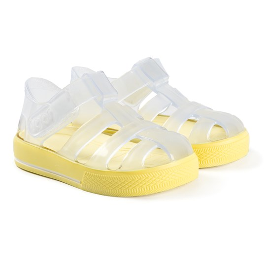 Igor Star Brillo Jelly Sandaler Transparent/Yellow 008