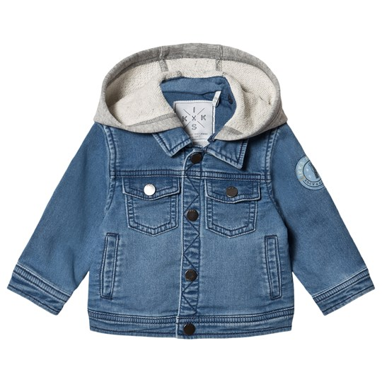 IKKS Hooded Denim Jacket Blue 85