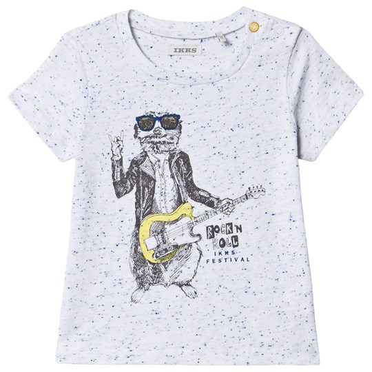 IKKS Rock n Roll T-Shirt Vit 01