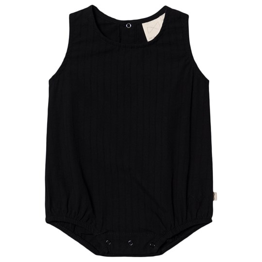 Mini Sibling Romper Black Black