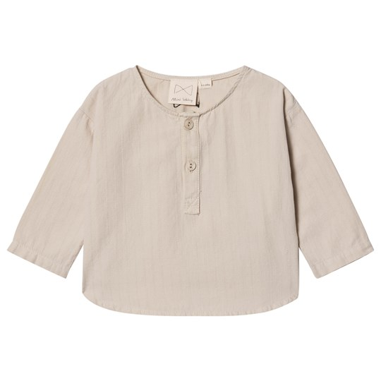 Mini Sibling Button-Front Top Dust Dust