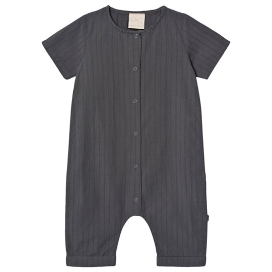 Mini Sibling Jumpsuit Charcoal Charcoal