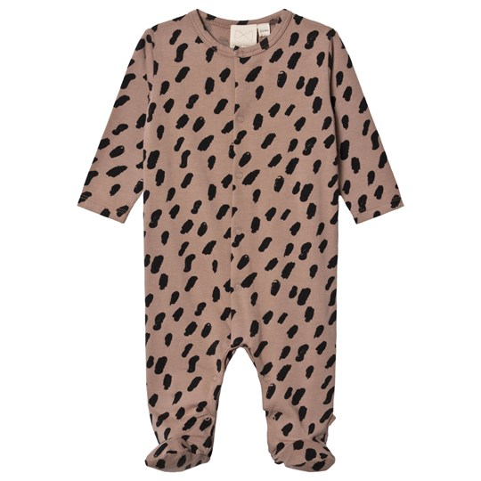 Mini Sibling Paint Footed Baby Body Cacao/Black Cacao, Paint, Black