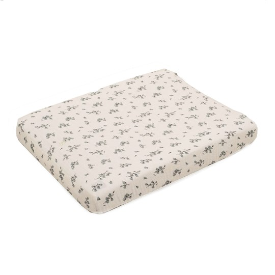 garbo&friends Muslin Changing Pad Cover Bluebell Multi
