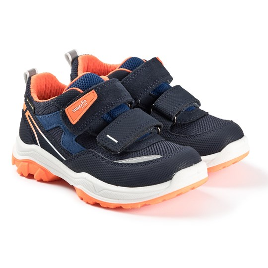 Superfit Jupiter Sneakerser Blå blue/orange