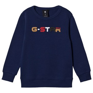 Image of G-STAR RAW G-Star Logo Sweatshirt Navyblå 3 years (1498407)
