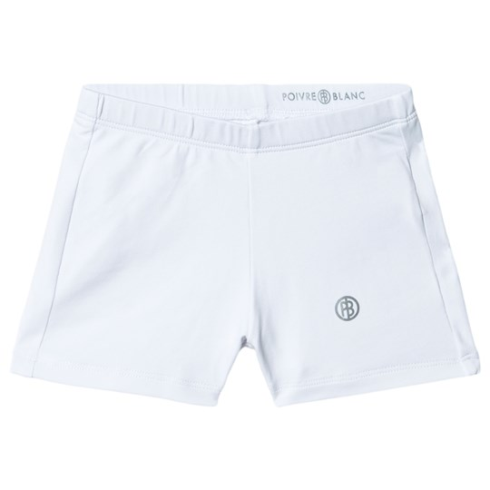 Poivre Blanc Tennis Shorts White 0001
