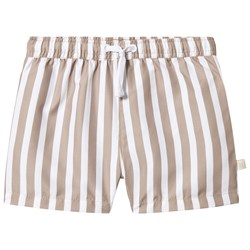 Kuling Kuling x Kenza Swim Shorts Tan Stripe