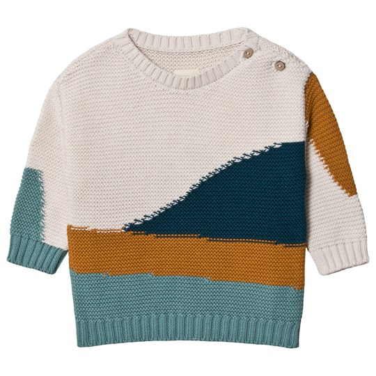Play Up Knit Tricot Sweater Knitted Pearl Pearl