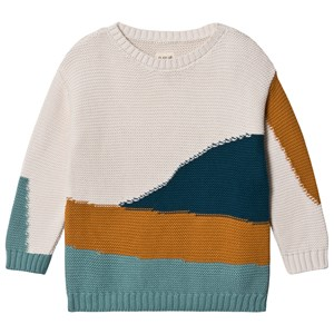 Image of Play Up Knitted Sweater Pearl 4 Years (1580481)
