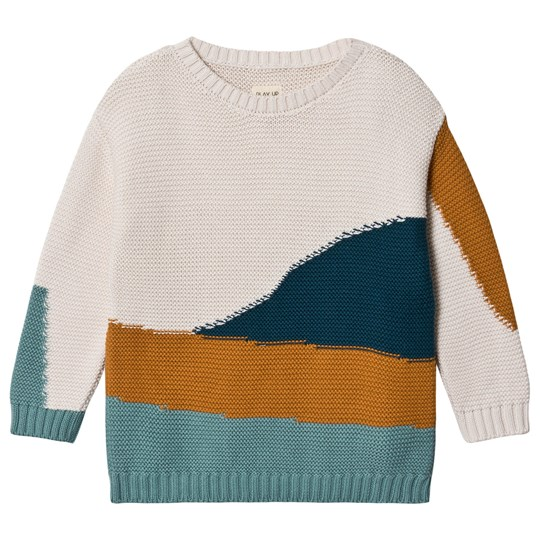 Play Up Knitted Sweater Pearl Pearl