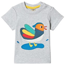 Frugi Little Creature T-shirt Grå