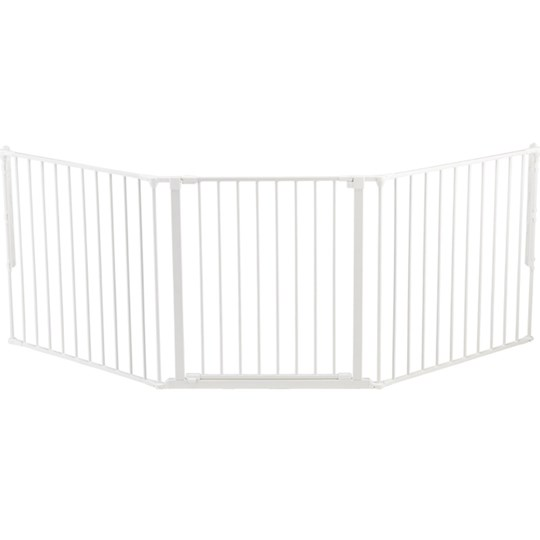 Baby Dan Olof L Safety Gate White White