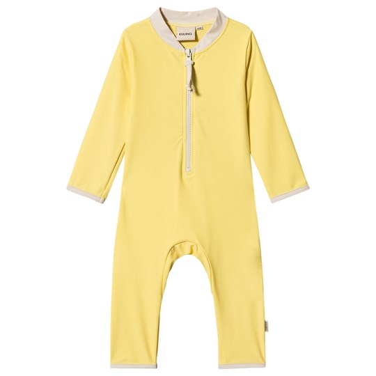 Kuling Whitsunday UV-Suit L/S Banana Yellow