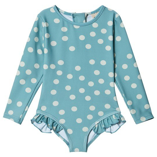 Kuling Antibes Swimsuit Dot Charmy Turquoise