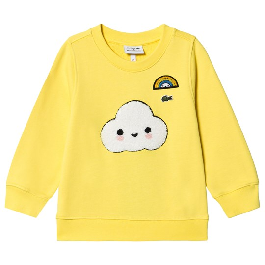 Lacoste Cloud Graphic Sweatshirt Yellow 7GC
