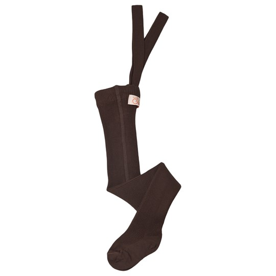 Silly Silas Tights Brown Chocolate Brown