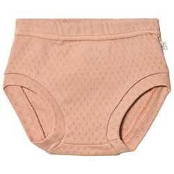 Mini Sibling Patterned Bloomers Salmon