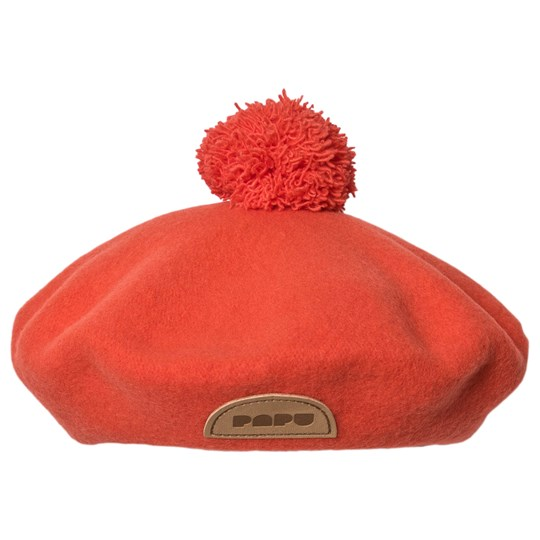 Papu Pom Pom Beret Noisy Red NOISY RED