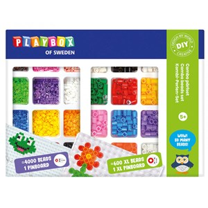 Image of Playbox Combo Perler Sæt 3+ years (1590627)