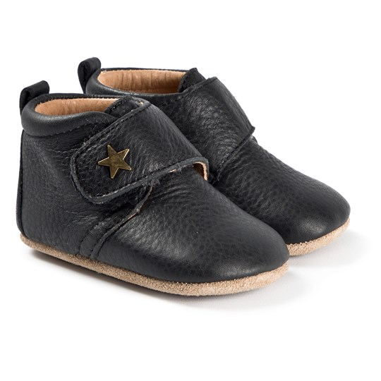 Bisgaard Baby Star Shoes Black Black